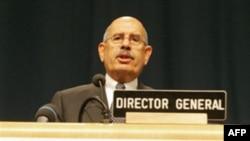 آقای برادعی می گوید که در تحقیقات پیرامون برنامه اتمی ایران پیشرفت قابل توجهی به دست نیامده است.(عکس: AFP)