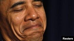 АҚШ президенті Барак Обама. Вашингтон, 02 ақпан 2011 жыл.