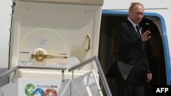 Путин покидает Австралию