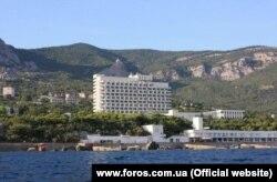 Крымский санаторий «Форос», принадлежащий Игорю Коломойскому