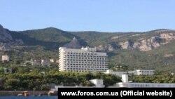 Санаторий «Форос», архивное фото