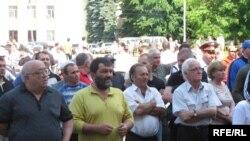 Владикавказская мэрия на этот раз дала разрешение на проведение митинга представителям югоосетинской оппозиции