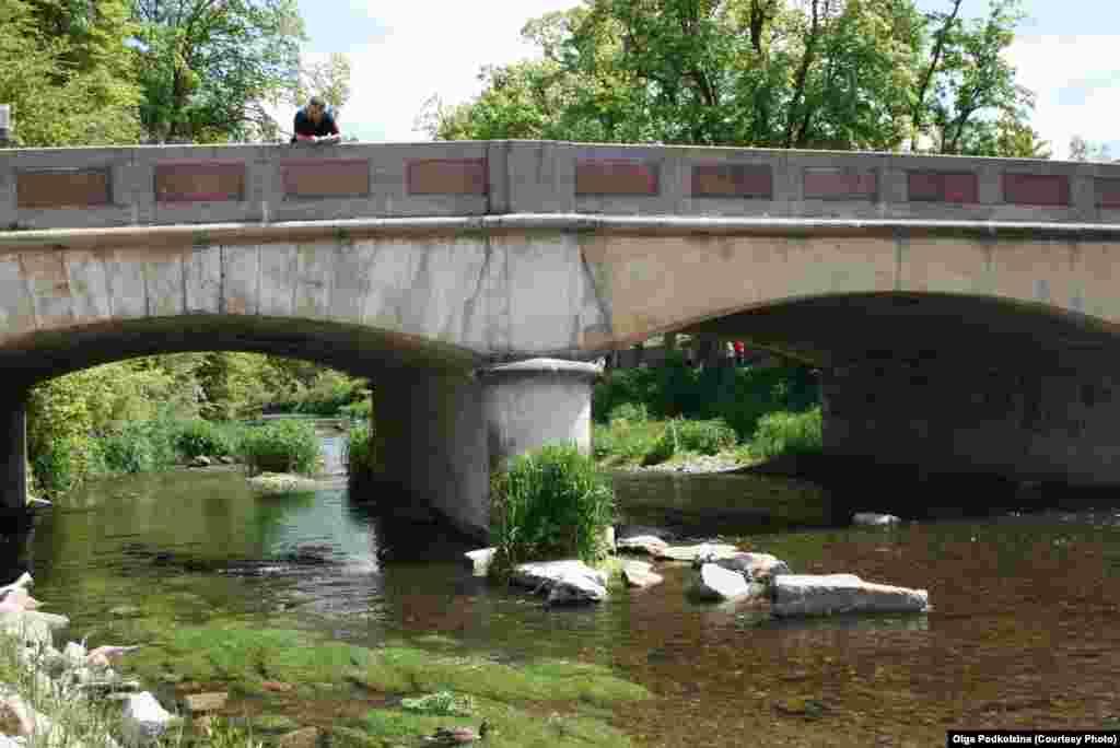 Бригах протекает через городок Донауэшинген и у его черты сливается с Брегом, образуя Дунай