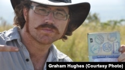 Graham Hughes, a 31-year-old from England, has been travelling around the world for the last four years.