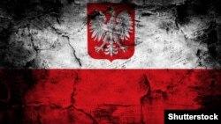 Shutterstock - Poland grunge flag. Minsk, undated