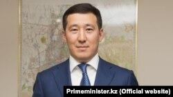 Еңбек және халықты әлеуметтік қорғау вице-министрі Ерлан Әукенов.