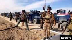 قوات أمنية عراقية في الرمادي