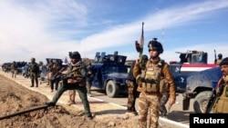 قوات أمنية عراقية تنتشر في مدينة الرمادي