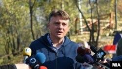 Архива: Градоначалникот на Скопје Петре Шилегов.