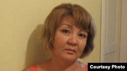 Алима Абдирова, правозащитник, корреспондент радио Азаттык.