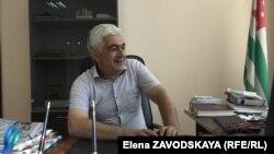 Роман Гвинджия, начальник Архивного управления Республики Абхазия