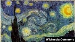 Вінцэнт ван Гог, «Зорная ноч», 1889.