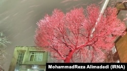 Иран-снег во Техеран,18.01.2017