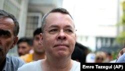 Америкалық пастор Эндрю Брансон. Түркия, 25 шілде 2018 жыл.