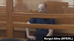 Игорь Чуприна в зале суда. Петропавловск, 16 сентября 2016 года.