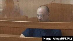 Блогер Игорь Чуприна в суде. Петропавловск, 16 сентября 2016 года.