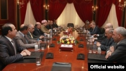 إجتماع بين التحالف الكردستاني والقائمة العراقية في أربيل