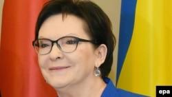 Действующий премьер-министр Польши Эва Копач.
