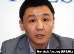 Аманжол Касым, руководитель авторской программы видеопортала «Стан.ТВ». Алматы, 11 января 2012 года.