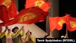 Кыргызстандын желеги
