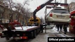 Автоунааны эвакуациялоо учуру