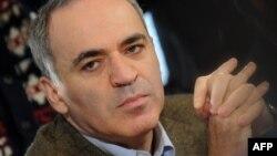 Російський опозиційний активіст, 13-й чемпіон світу з шахів Гаррі Каспаров