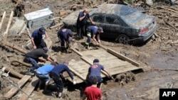 Վրաստան - Ջրհեղեղի հետևանքները Թբիլիսիում, 15-ը հունիսի, 2015թ․