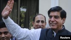 Pakistanyň premýer-ministri Raja Perwez Aşraf. 22-nji iýun, 2012 ý.