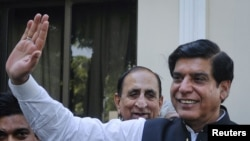 د پاکستان وزیر اعظم راجا پروېز اشرف