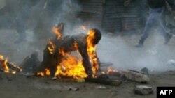 Pamje nga dhuna e mëhershme në Afrikë