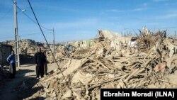 Իրան - Երկրաշարժի գոտում որոնողա-փրկարարական աշխատանքներ են իրականացվում, Քերմանշահ նահանգ, 13-ը նոյեմբերի, 2017թ․