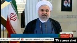 سخنرانی حسن روحانی از تلویزیون دولتی ایران بهطور مستقیم پخش شد
