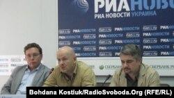 Олег Бузина (в центре). Киев, 03.09.2012