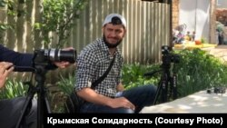 Кримський громадянський журналіст Айдер Кадиров 31 серпня 2020 року (ілюстративне фото)