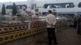 Рынок в Ашхабаде, 6 июля, 2020