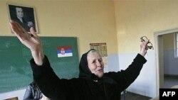 Gjatë votimeve të kaluara në Graçanicë...