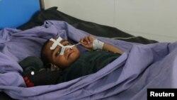 زخمی حمله هوایی کندز