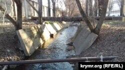 Русло реки Салгир в Симферополе