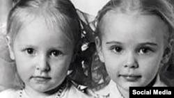 Putinove kćerke, fotografija iz detinjstva