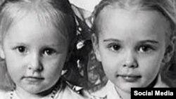 Putinin qızları uşaqlıqda