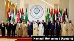 Al 29-lea summit arab de la Dhahran, Arabia Saudită, 15 aprilie, 2018.