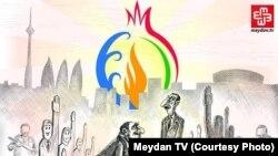 Avropa Oyunları vaxtı Meydan TV-də karikatura