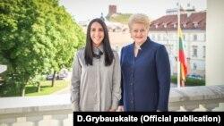 Президент Литвы Даля Грибаускайте и украинская певица Джамала, архивное фото