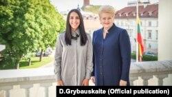 Президент Литви Даля Грібаускайте і українська співачка Джамала, архівне фото