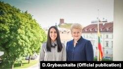 Президент Литвы Даля Грибаускайте и украинская певица Джамала
