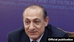Министр спорта и по делам молодежи Армении Юрий Варданян