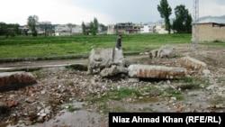 Місце, де стояв будинк Усами бін Ладена