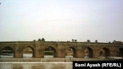 جسر على نهر الوفد في خانقين