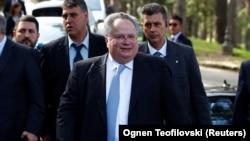 Grčki ministar spoljnih poslova Nikos Kocijas