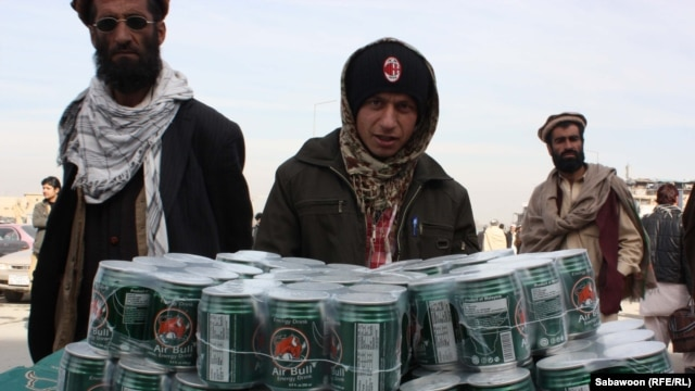 Energy drinks are sold everywhere in modern Afghanistan -- from street carts to corner shops to the finest restaurants. Even hard-line Taliban militants have been known to enjoy one of the many available concoctions to quench their thirst on the battlefield.